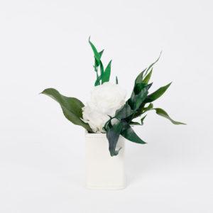 Bouquet en fleurs stabilisées Petit pot Grace