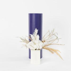 Bouquet en fleurs stabilisées Peacock XS