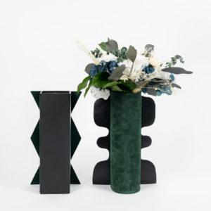 Bouquet Kind of Blue en fleurs stabilisées - format Caméléon