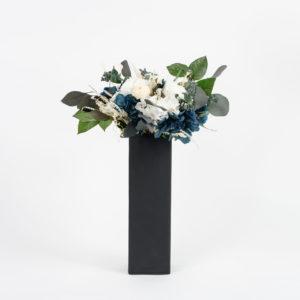 Bouquet en fleurs stabilisées Caméléon Kind of Blue - Rodanthe