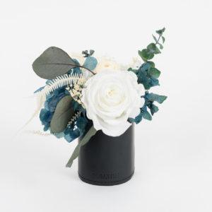 Bouquet en fleurs stabilisées Petit pot Kind of blue