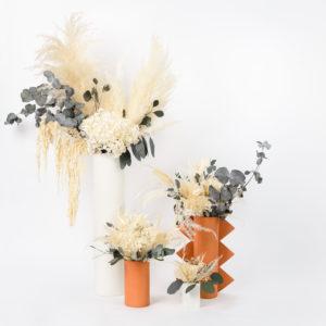 Gamme de bouquets en fleurs stabilisées Elefant