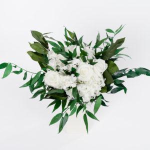 Bouquet en fleurs durables Grace M - détail