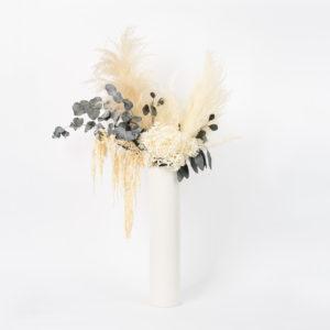 Bouquet colonne en fleurs stabilisées L Elefant