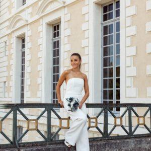 Bouquet de mariée Horizon pour boutiques Les Fleurs Dupont X Yasmin Hassaïne