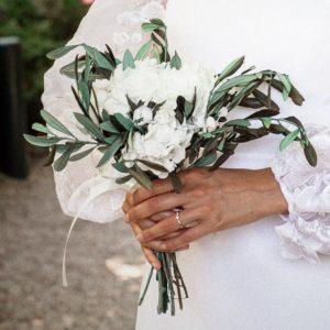 Bouquet de mariée Elaia
