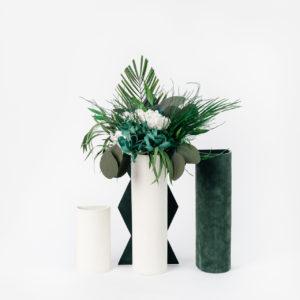 Bouquet en fleurs stabilisées Caméléon Habana - Objet de décoration d'intérieur naturelle