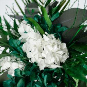 Bouquet en fleurs stabilisées Caméléon Habana - style tropcial chic